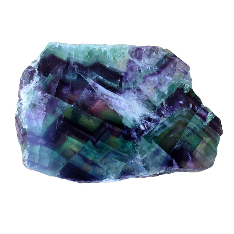 Fluorite Crystal Slices