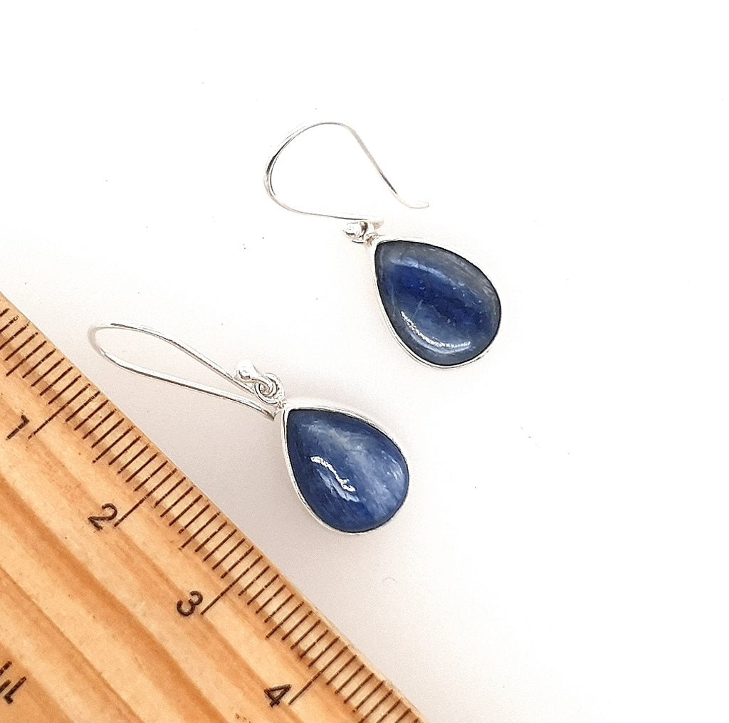 Kyanite Crystal Earrings