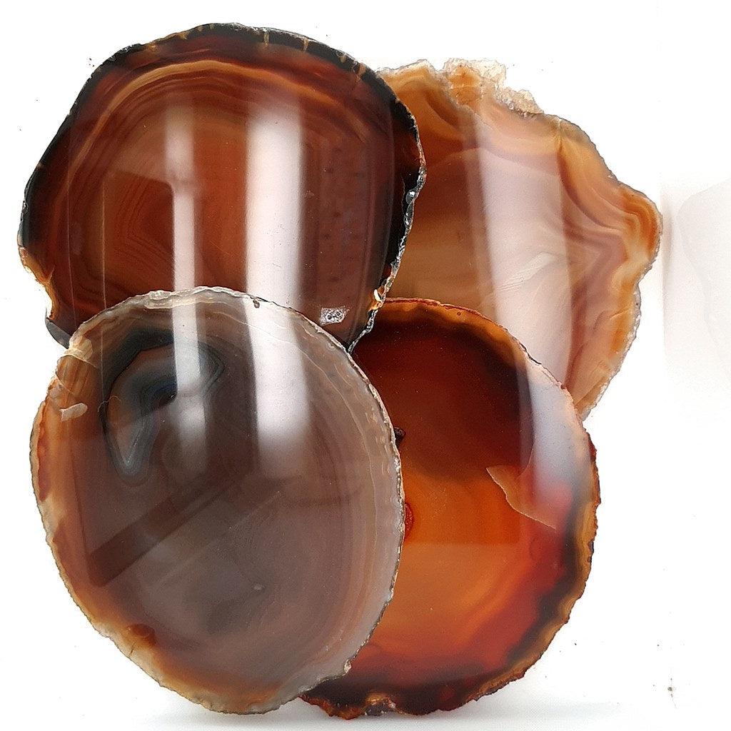 Agate Coasters Set of 4