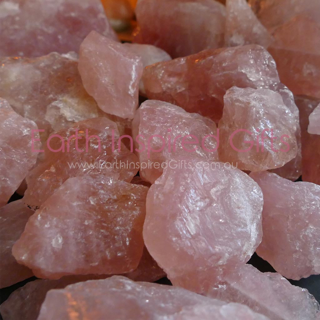 pink coloured crystals