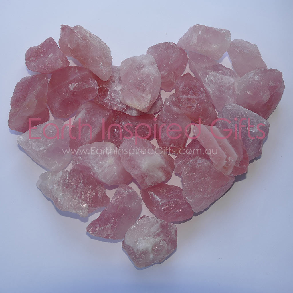 pinkish natural crystals