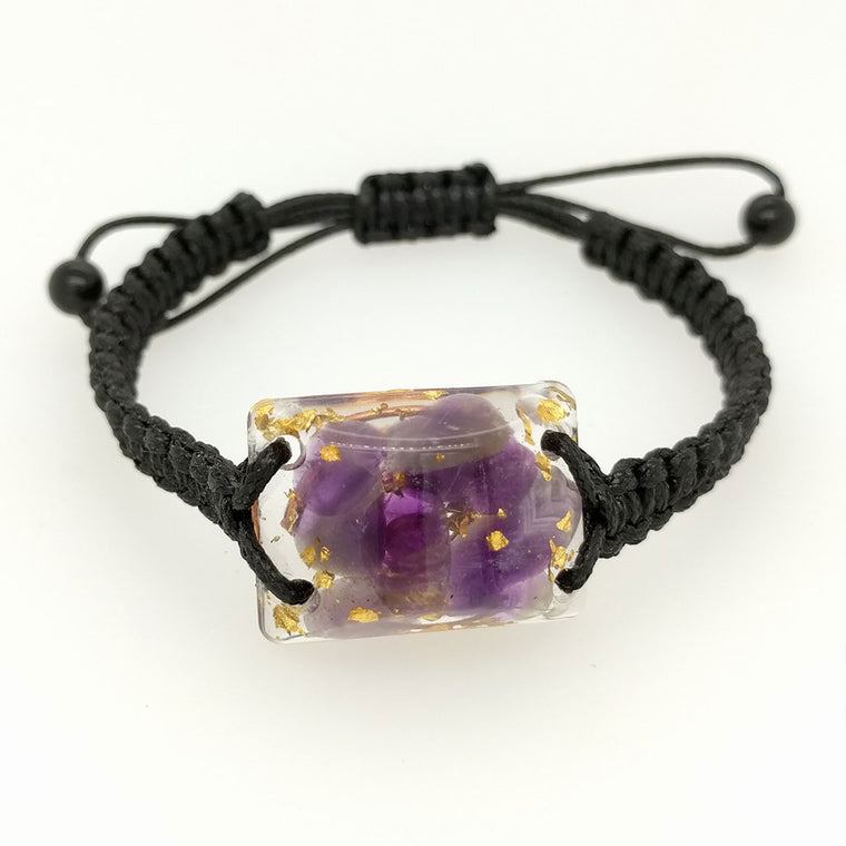Orgone Energy Jewellery Bracelets with Leather Strap