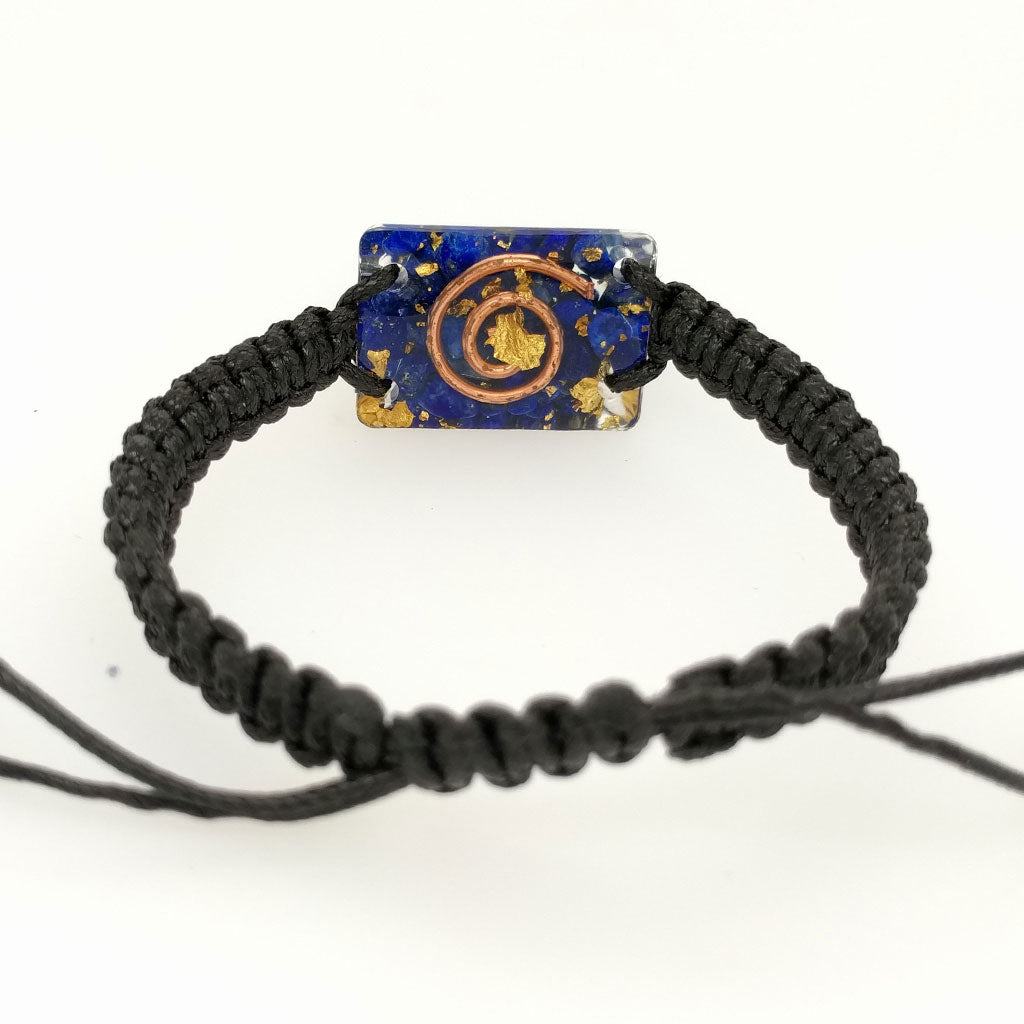orgonite bracelet with crystals