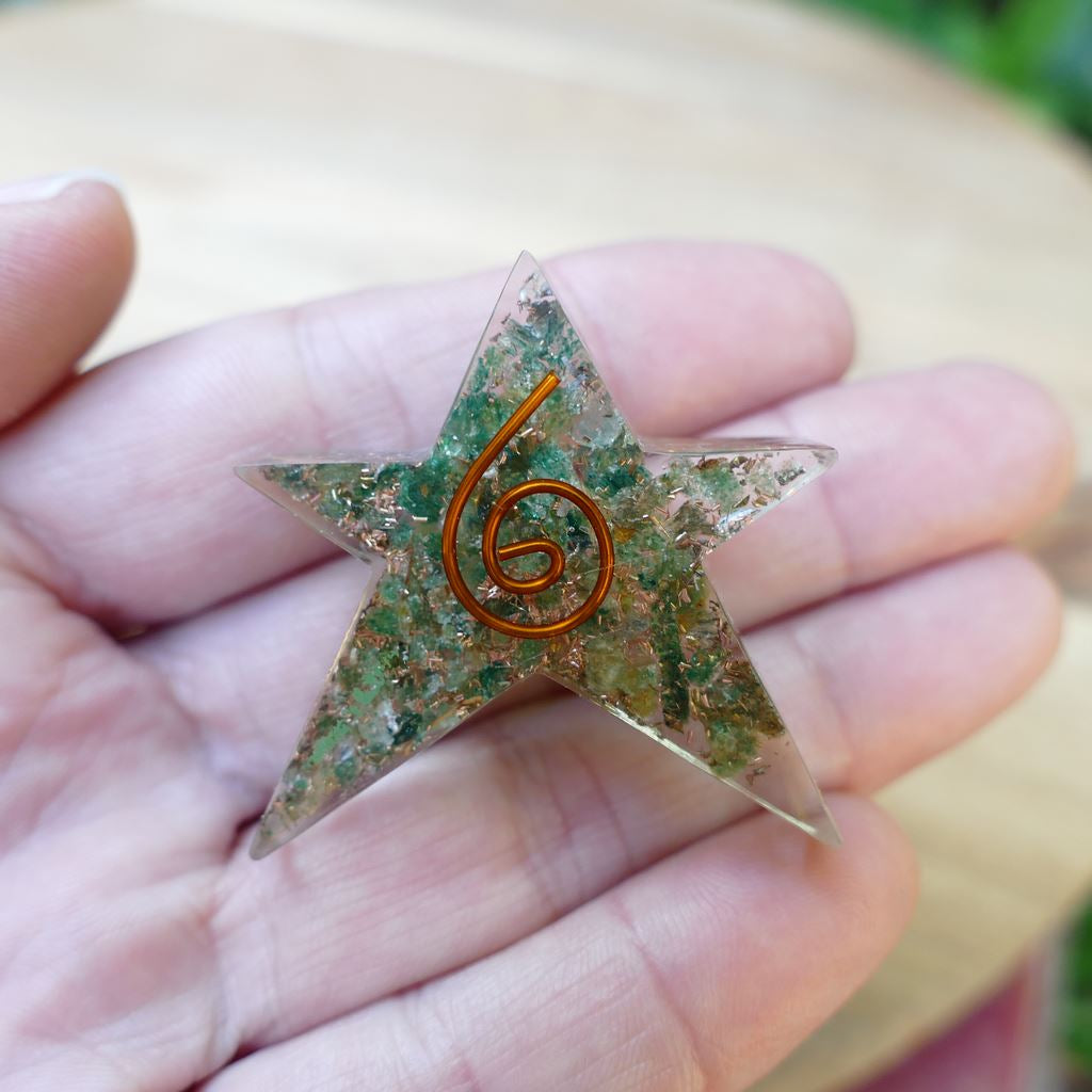 orgonite stars for health