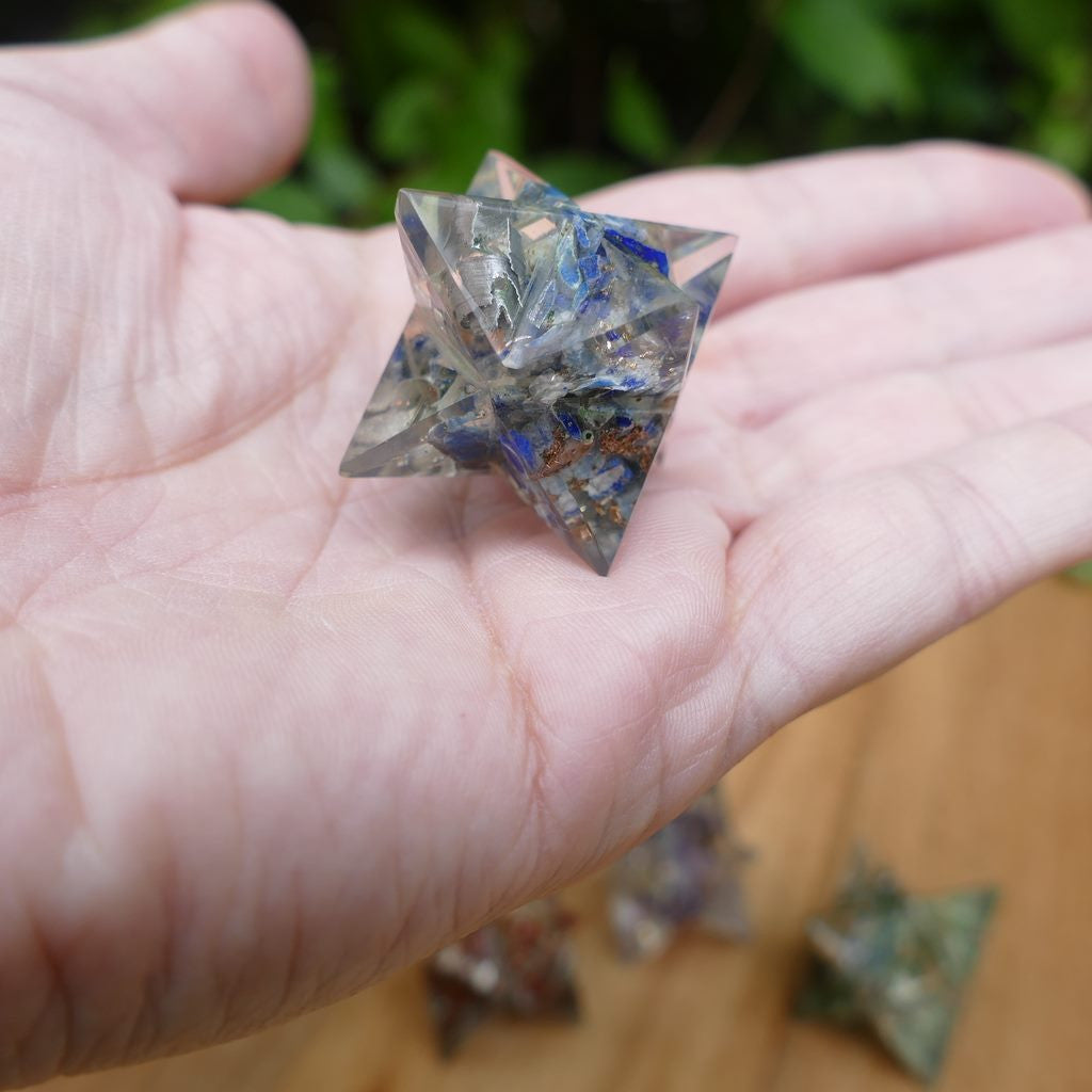 Orgonite Merkaba to Boost your Vibration