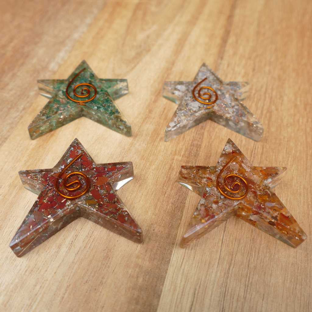 orgonite star pack