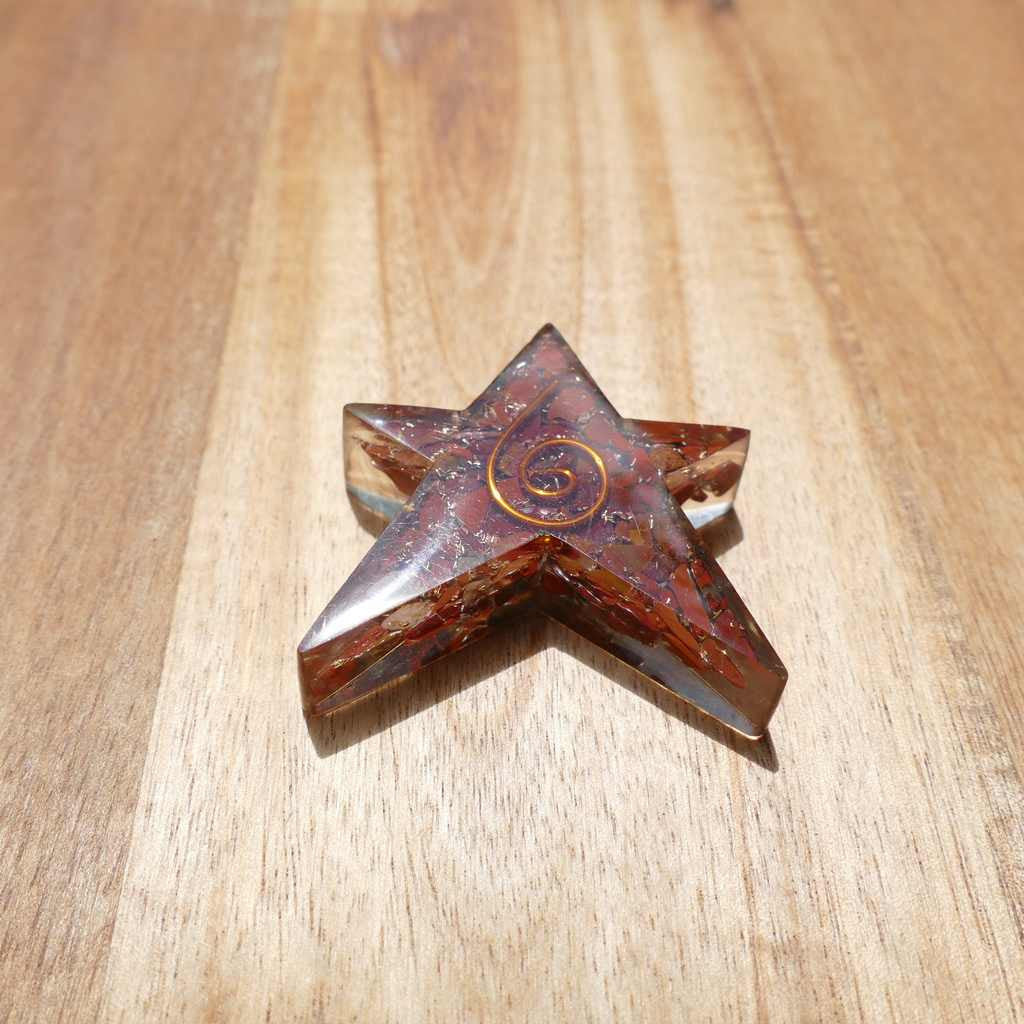 single orgonite star