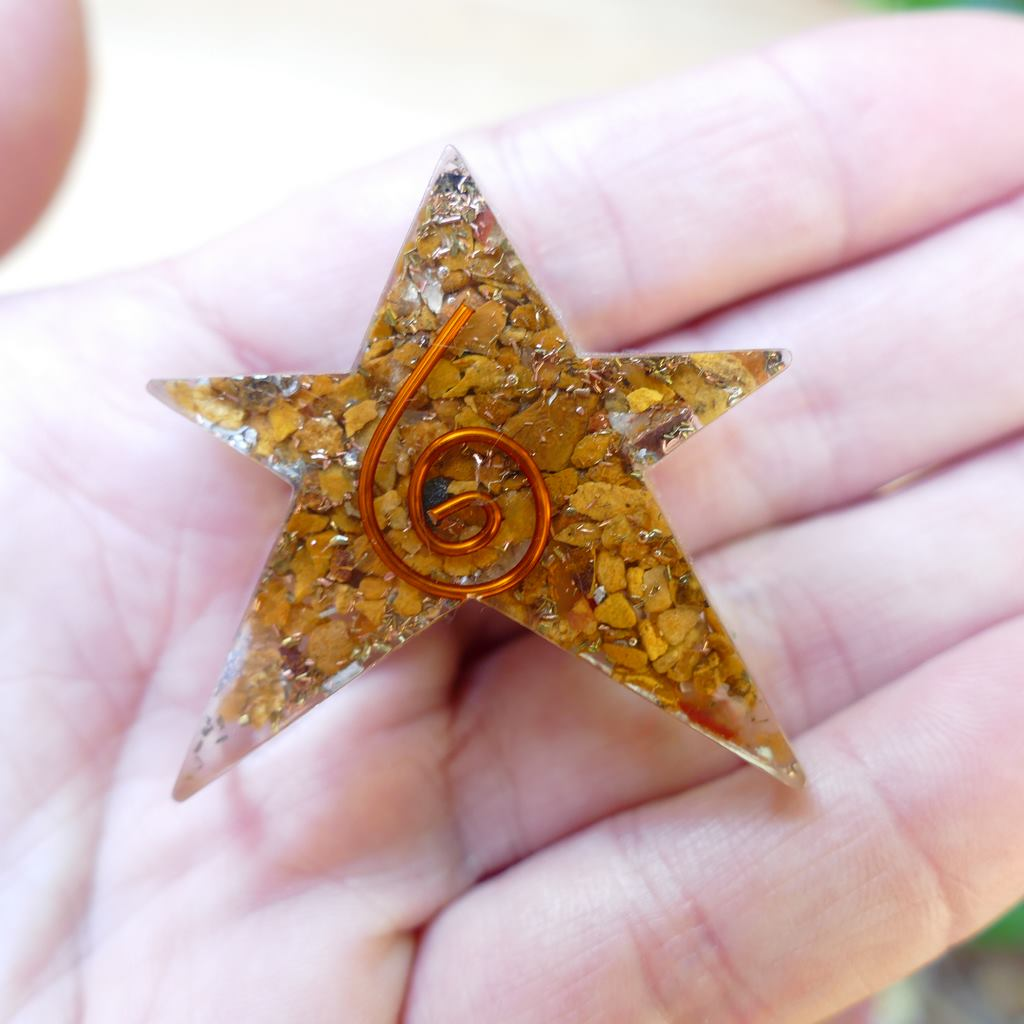 orgonite star for love