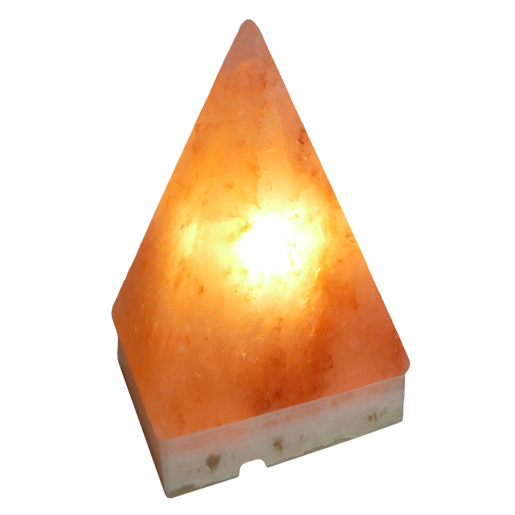 Pyramid Salt Lamp - Himalayan Salt Lamp Pyramid