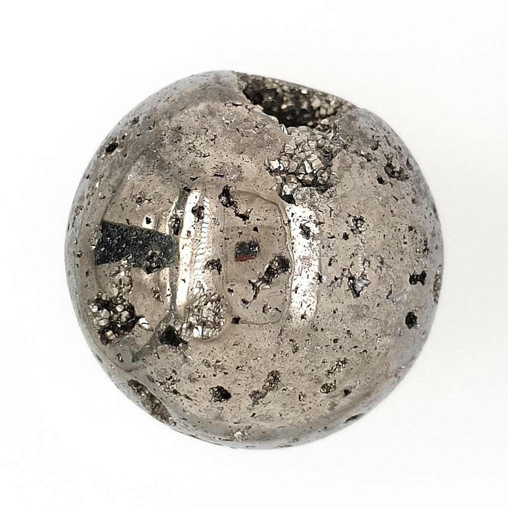 Pyrite Crystal Cluster Sphere