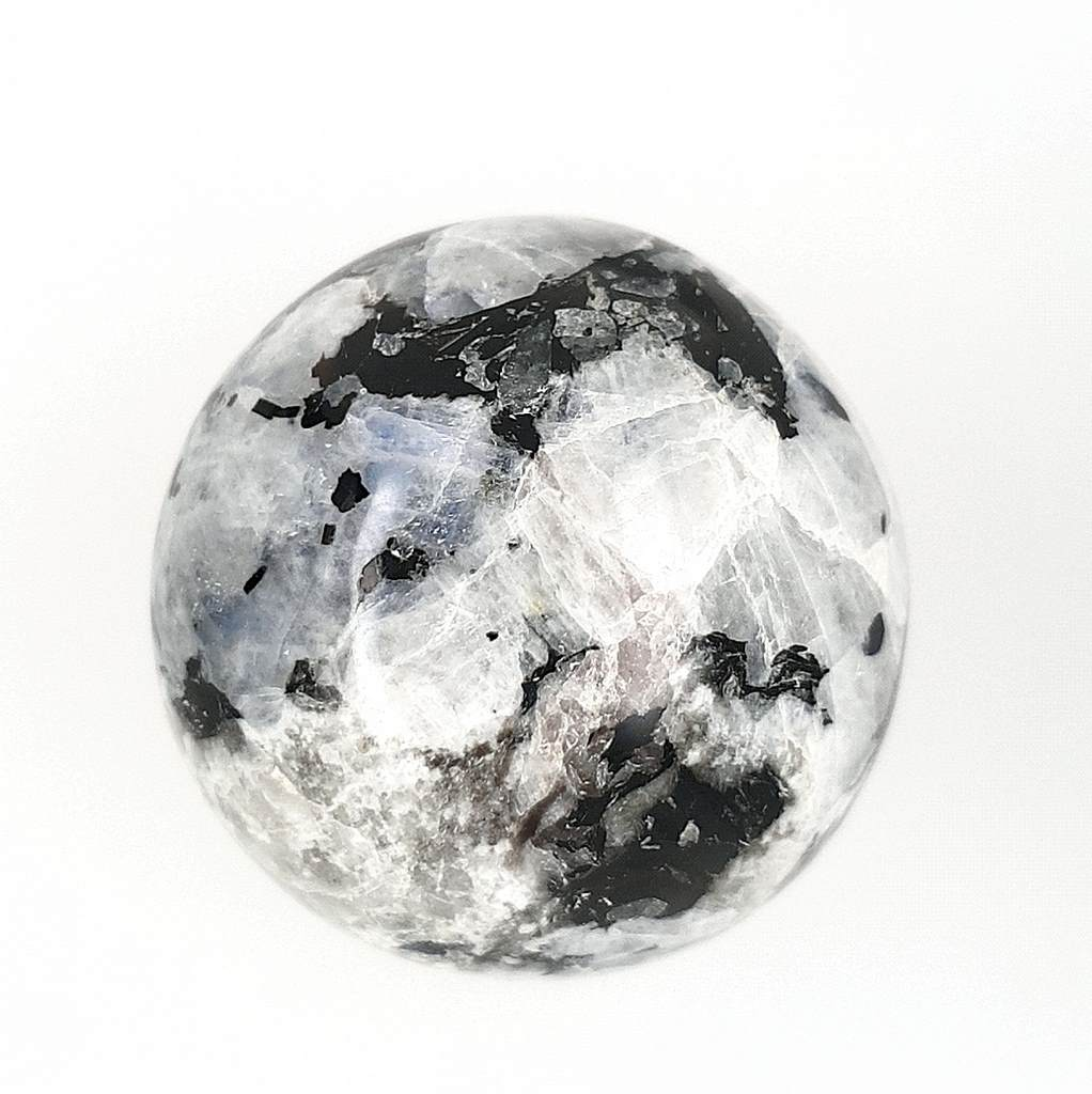 Rainbow Moonstone Crystal Sphere - 59mm