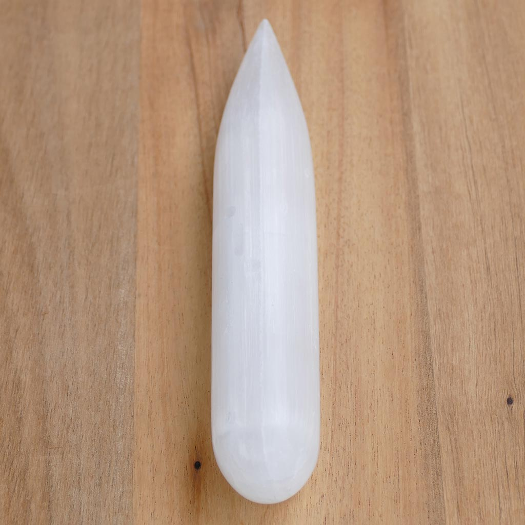 Selenite Wands for Healing, Calming & Cleansing & Reiki Chakra Healing
