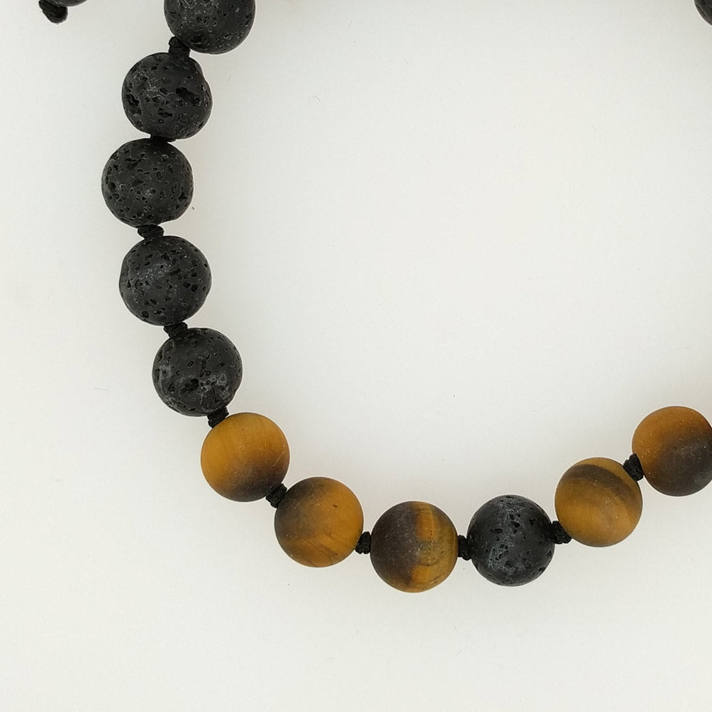 Tiger Eye Healing Bracelet with aroma oil