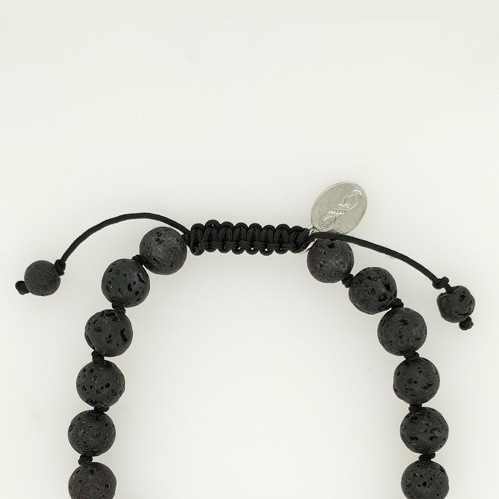 lava stone oil diffuser bracelet crystal healing