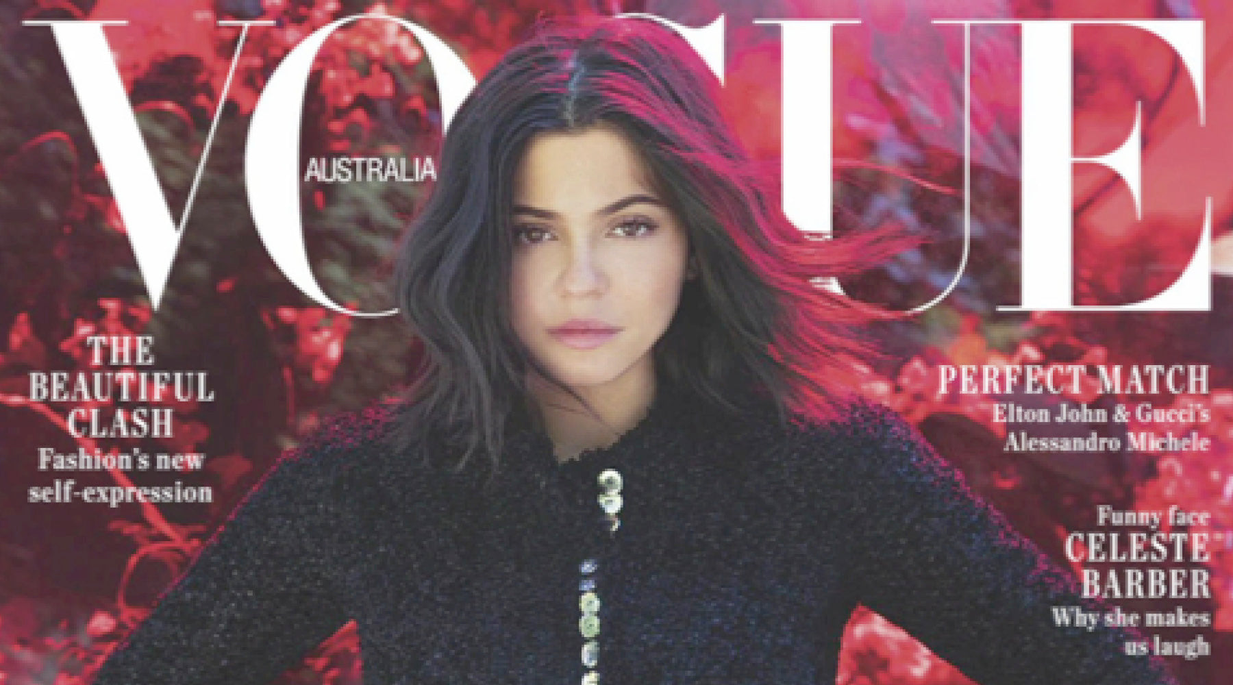 Vogue Australia September 2018 Kylie Jenner Cover Image featuring ASHLEY LIM Femme boots inside