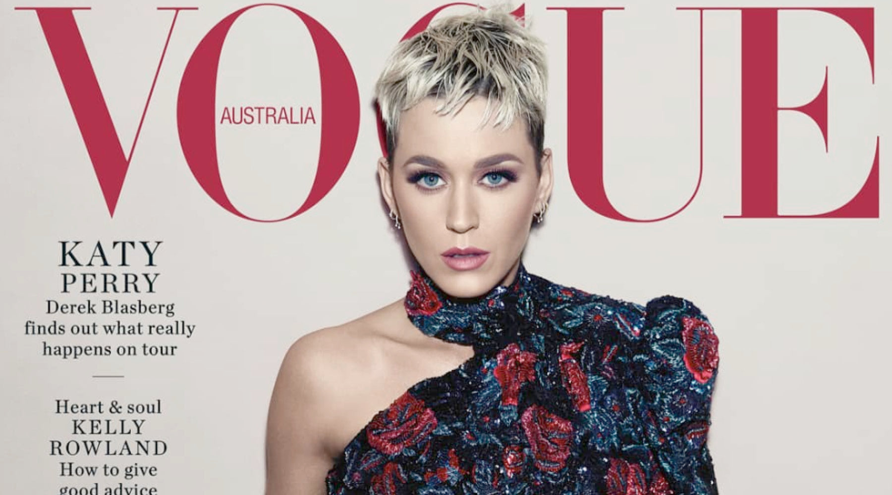 VOGUE Australia August 2018 Cover Page Katy Perry