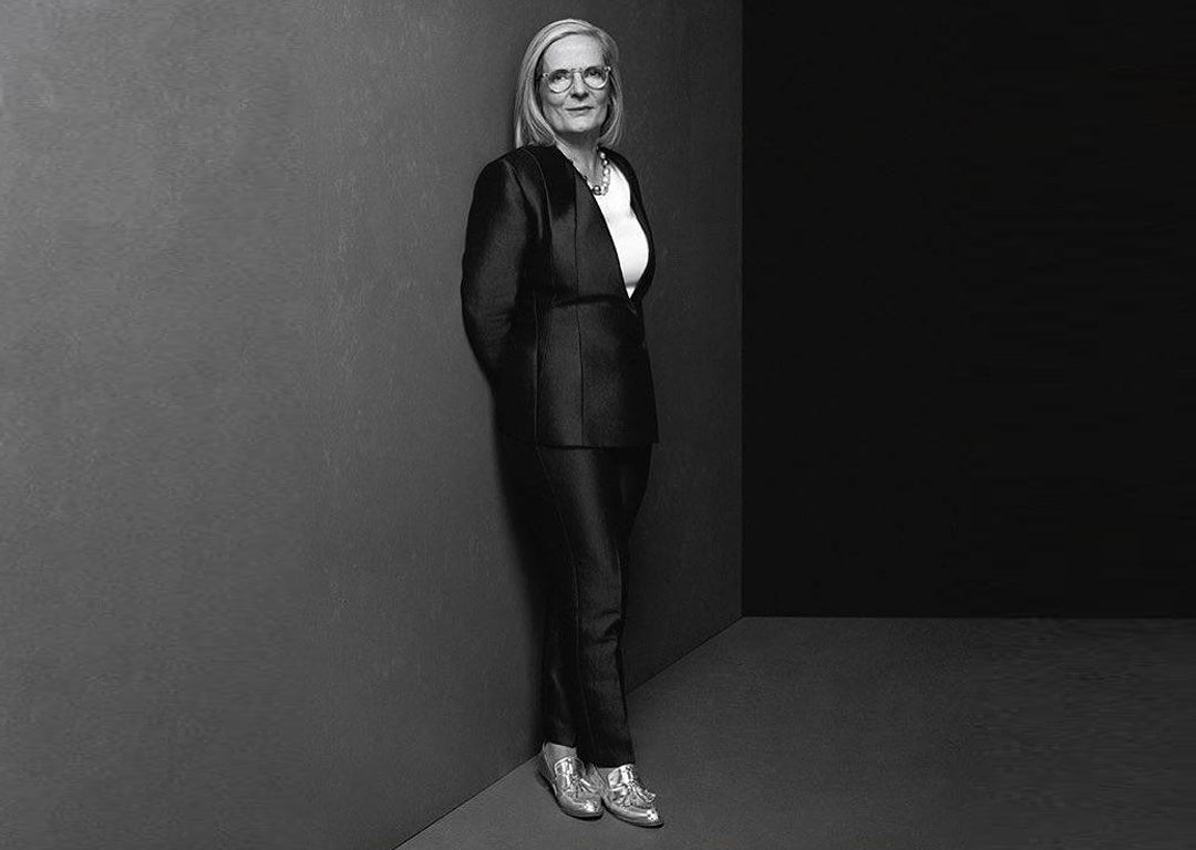 Lucy Turnbull wearing her EOD by ASHLEY LIM Ecstasy Metallic Silver Loafers |