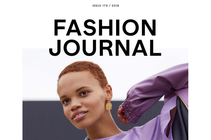 Fashion Journal Australia Cover Image with EOD Femme kitten heel ankle boots featured inside