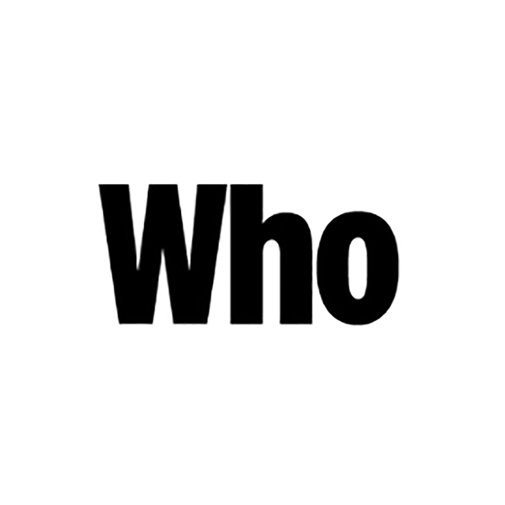 Who Magazine Logo ASHLEY LIM
