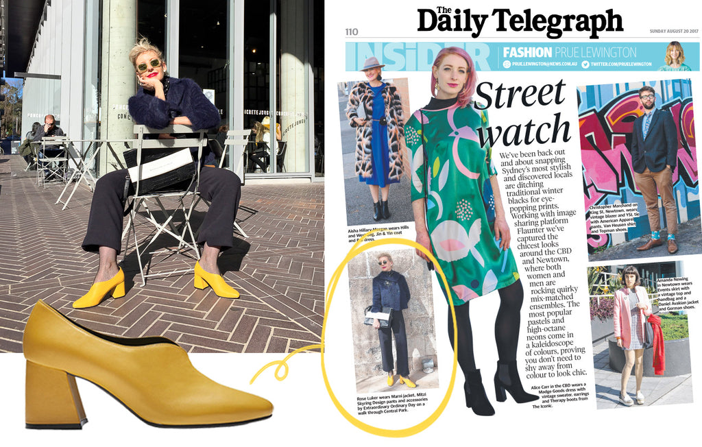 EODStyle Street Watch The Daily Telegraph Tara Pumps