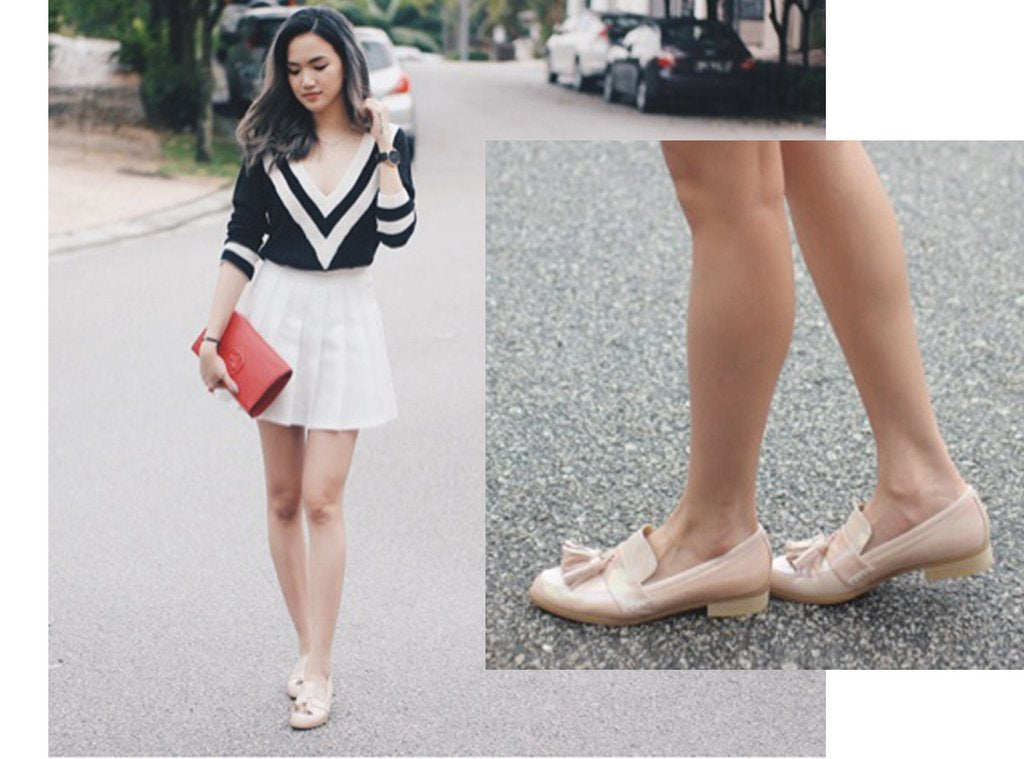 EOD Ecstasy Rainbow Pink Loafers | Stephanie Lim (@stephiielim)
