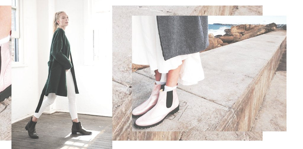 EOD Moon Boots featured in The Afternoon Sister on Yen Magazine