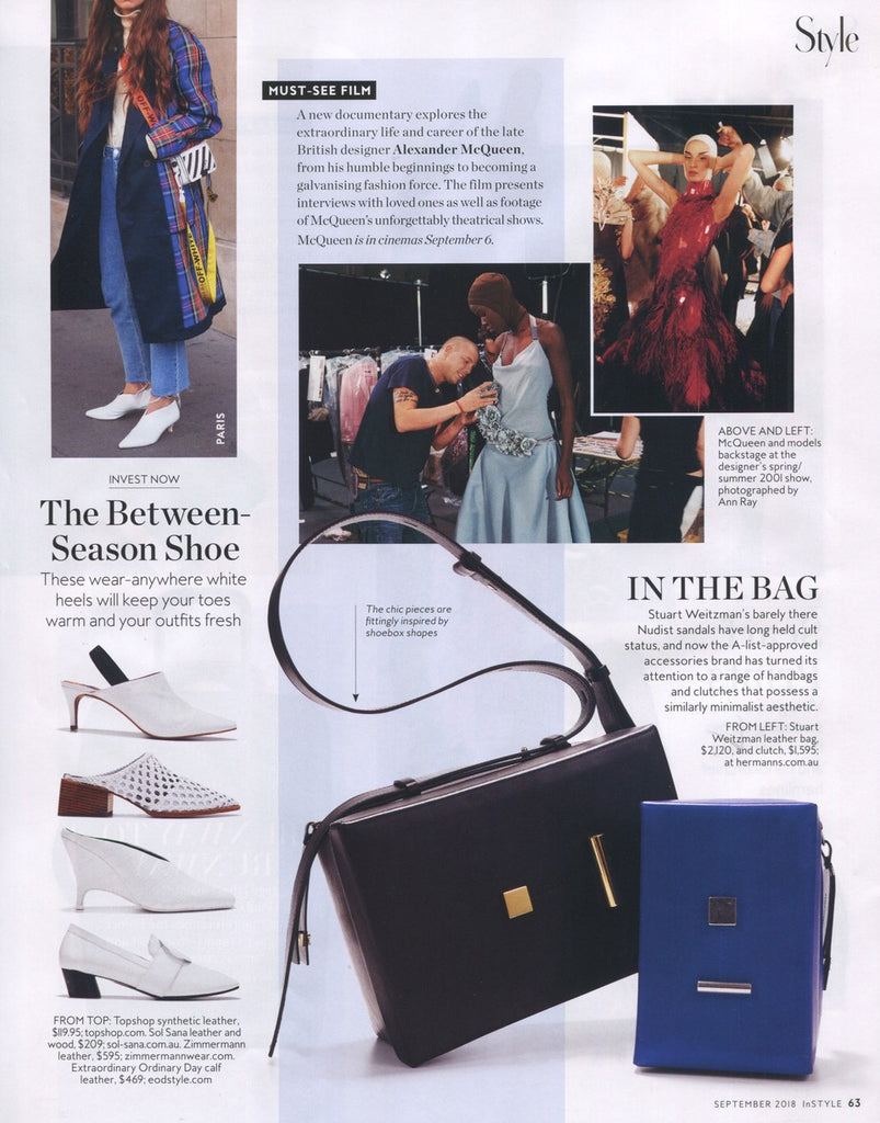 InStyle Magazine September issue features Ashley Lim Josephine Loafers