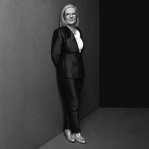 Lucy Turnbull AFRMag Power2017 Ecstasy Metallic Loafers EODStyle