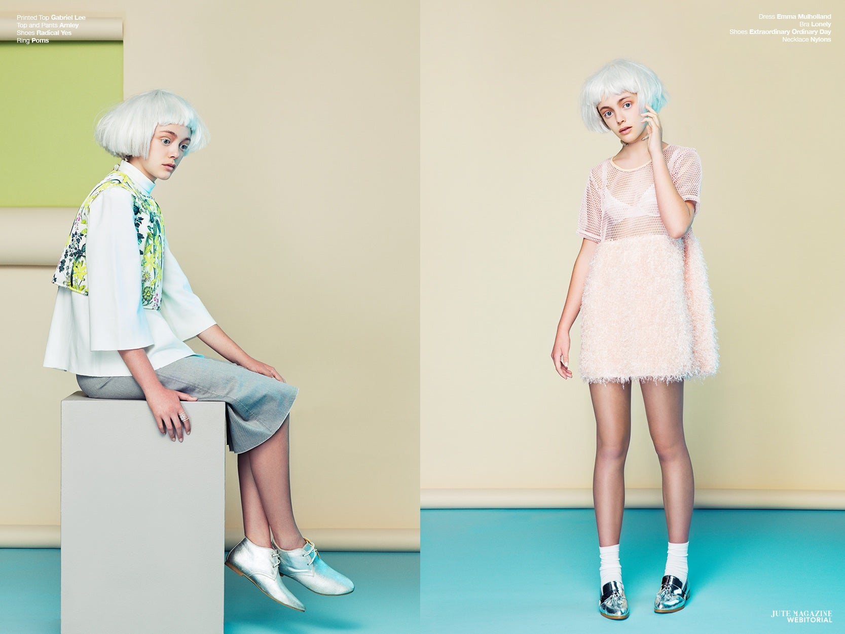 Premium Leather Shoes - Lost Doll by Seung Rok featuring Lovelace brogues featured in Jute Magazine