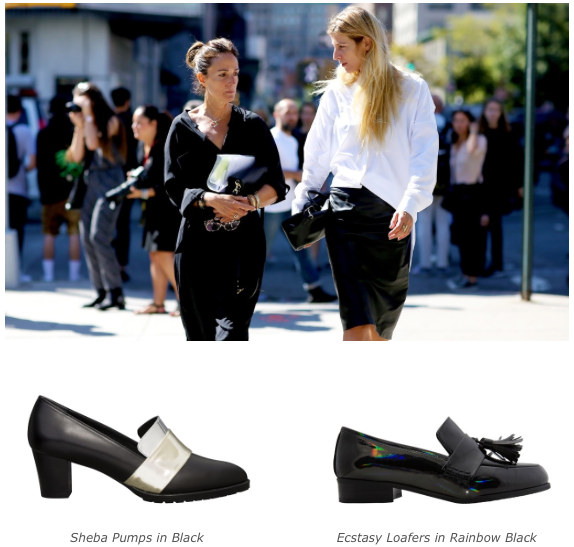 5 Persoality Styles - The Corporate Go-Getter - Ecstasy Loafer - Sheba Pump