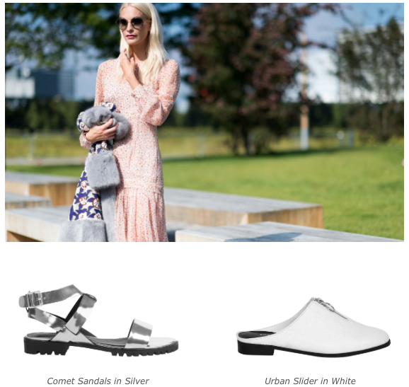 5 Personality Styles - Romantic Dreamer - Comet Sandals - Urban Slider