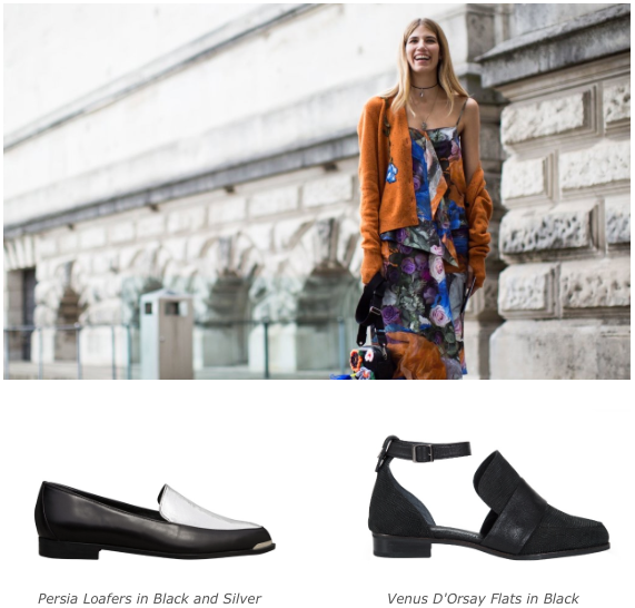 5 Persoality Styles - Creative Curator - Persia Loafers - Venus D'Orsay flats