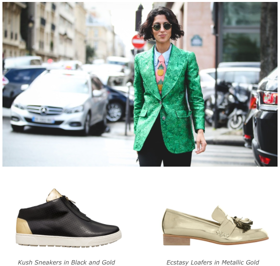 5 Persoality Styles - Care-free Tom Boy - Kush sneakers - Ecstasy Loafers