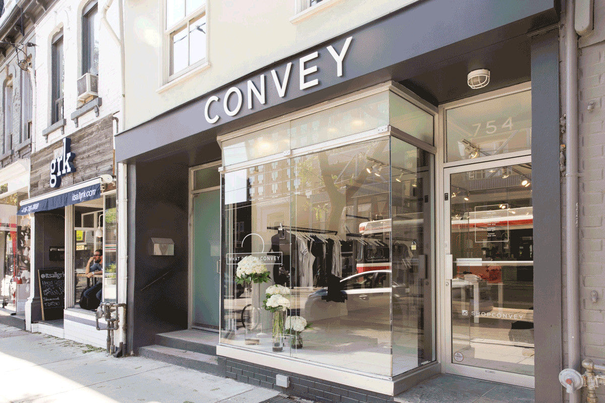 Fashion Blog - Extraordinary Ordinary Day EOD Convey Store Toronto