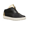 KUSH Leather High-Top Black Sneakers