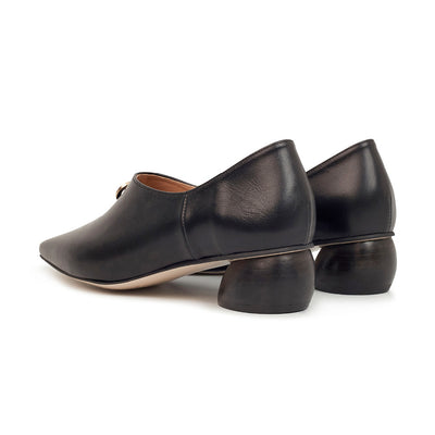 ASHLEY LIM designer shoes for women - Jacinda Black Leather Loafers 3