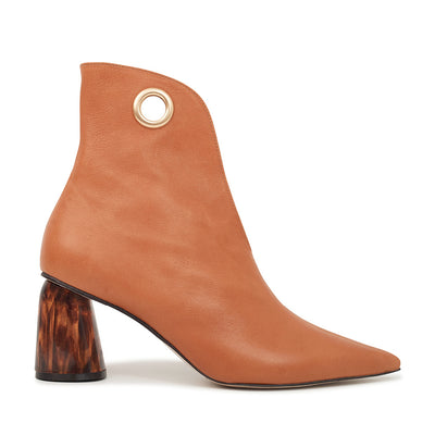 ASHLEY LIM designer boots for women - LAGARDE Vegetable Tanned Leather Ankle Boots 1