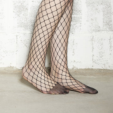 Fishnet Stockings - Large Mesh, Black - Extraordinary Ordinary Day