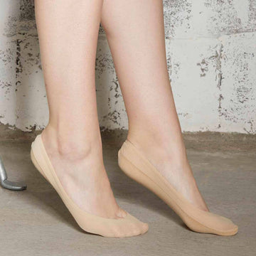 Invisible Socks with Anti-Slip Grip - Nude - Extraordinary Ordinary Day