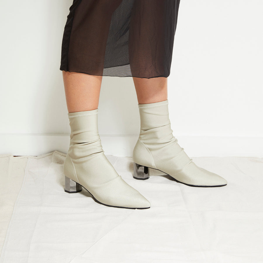 NIKITA Sock Boots - Beige - Extraordinary Ordinary Day