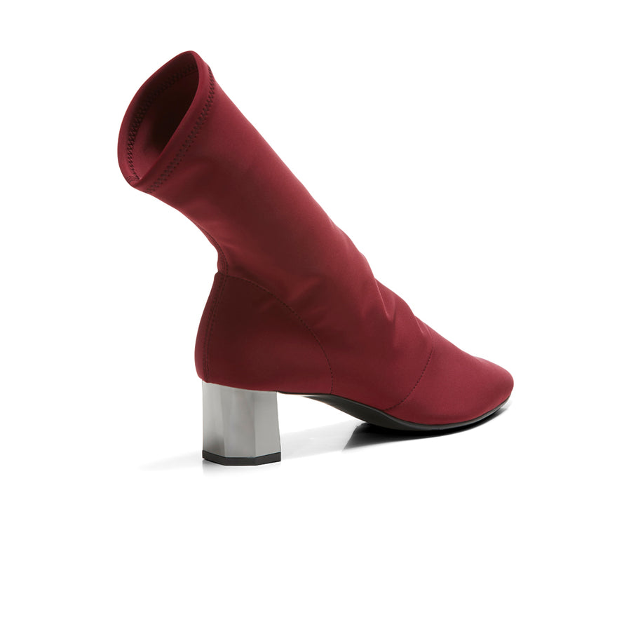 NIKITA Sock Boots - Burgundy - Extraordinary Ordinary Day
