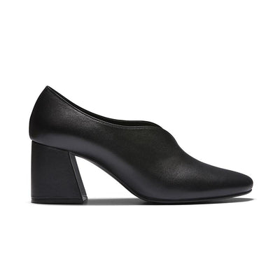 TARA Velvet Pumps - Black