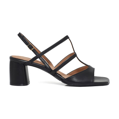 ALICE Slingback Leather Sandals - Tan - Extraordinary Ordinary Day