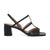 ALICE Slingback Leather Sandals - Black
