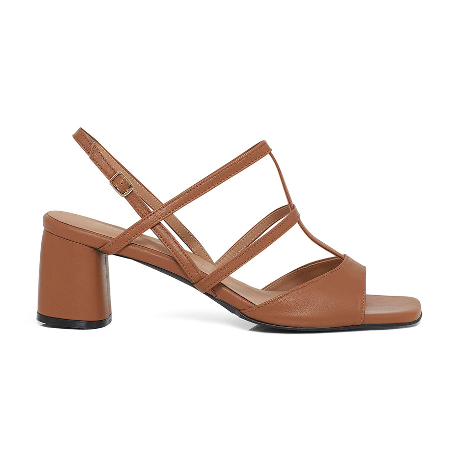 ALICE Slingback Leather Sandals - Black - Extraordinary Ordinary Day