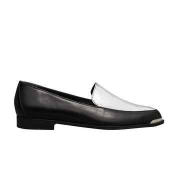 PERSIA Paneled Loafers - Black and Silver - Extraordinary Ordinary Day