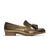 ECSTASY Tassel Leather Loafers - Metallic Bronze - Extraordinary Ordinary Day