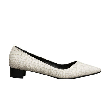 PALMYRA Pointed Toe Flats - Ivory / Only 36, 40 Left - Extraordinary Ordinary Day