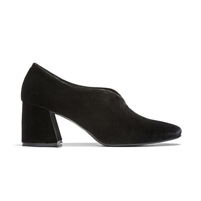 TARA Leather Pumps - Black
