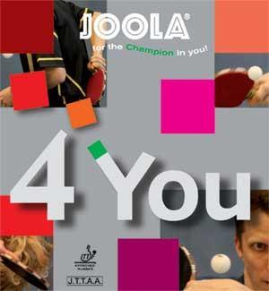 Joola 4 You-Rubber-TT Sports